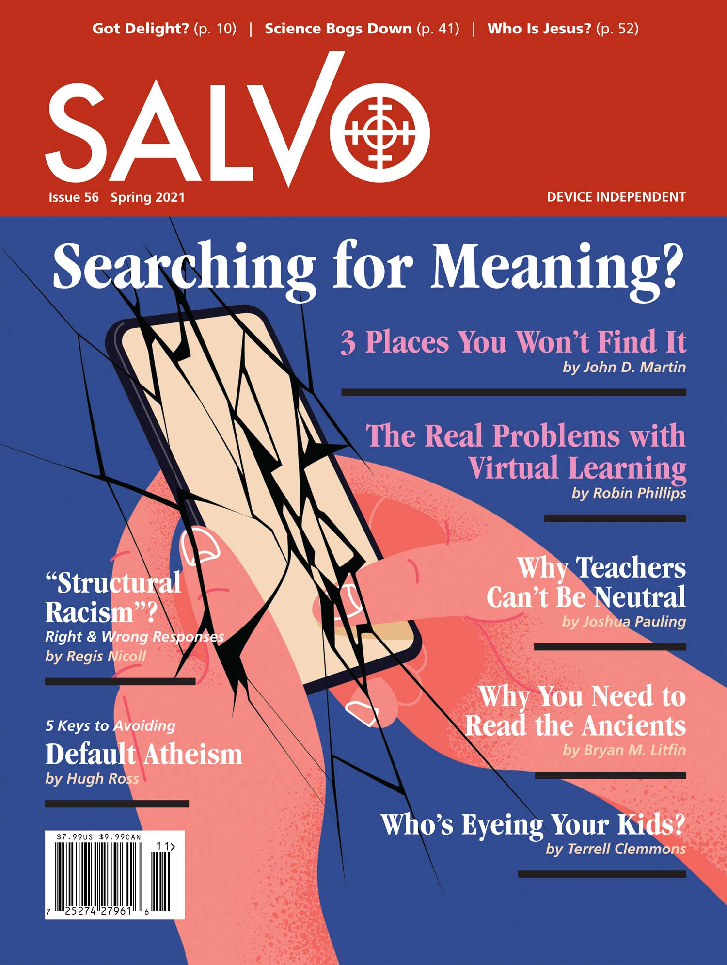 Current Issue Cover of Salvo Magazine