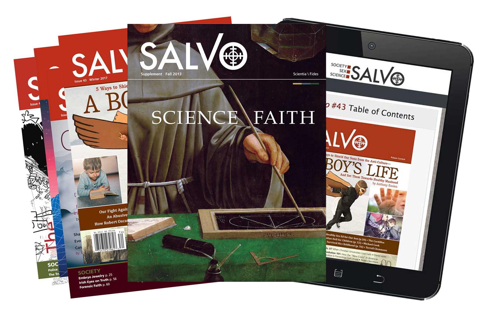Salvo magazine covers
